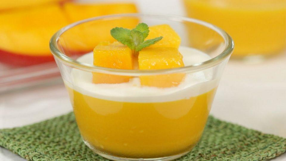 How To Make Mango With Coconut Pudding