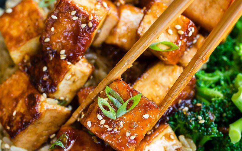 Tofu With Garlic And Honey Sauce Recipe