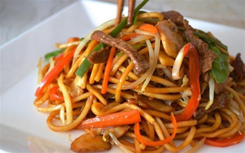 How To Make Noodles Stir-fried With Beef