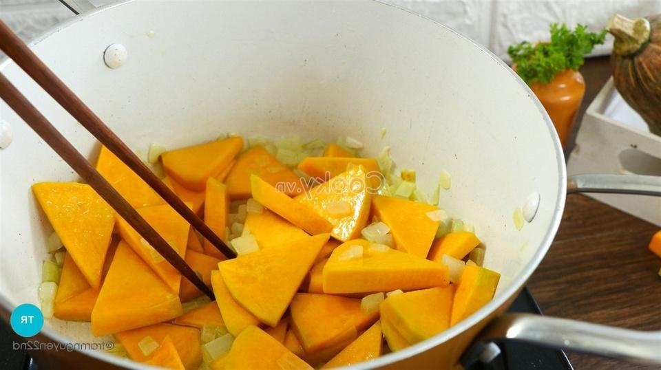 stir-fry pumpkin