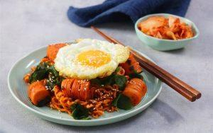 how to make noodles stir-fry with seaweed