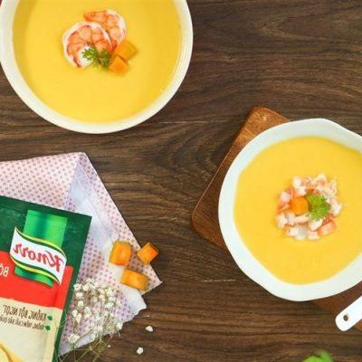 how to make pumpkin and shrim soup