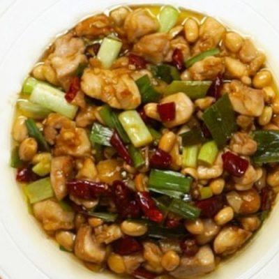 How to make chicken stir-fry with roasted peanuts