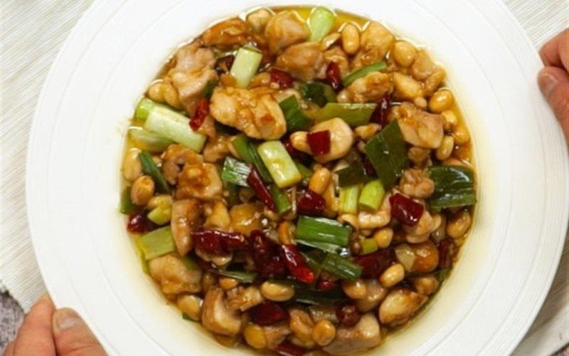 Chicken Stir-fry With Roasted Peanuts
