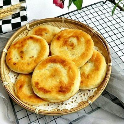 fried dumplings with red beans