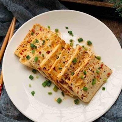 how to make spicy fried tofu