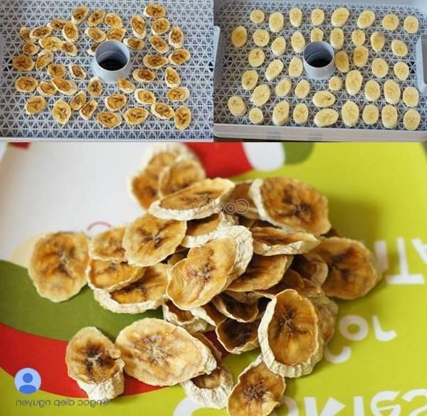 bake banana pieces