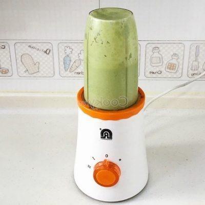 add green tea powder and yogurt