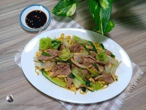 Noodles Stir-fried With Beef Recipe