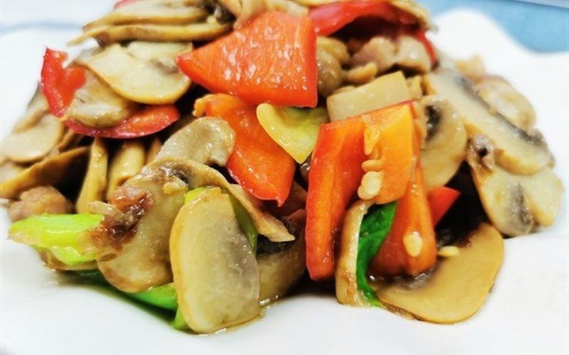 How To Make Pork Stir-fry With Mushrooms