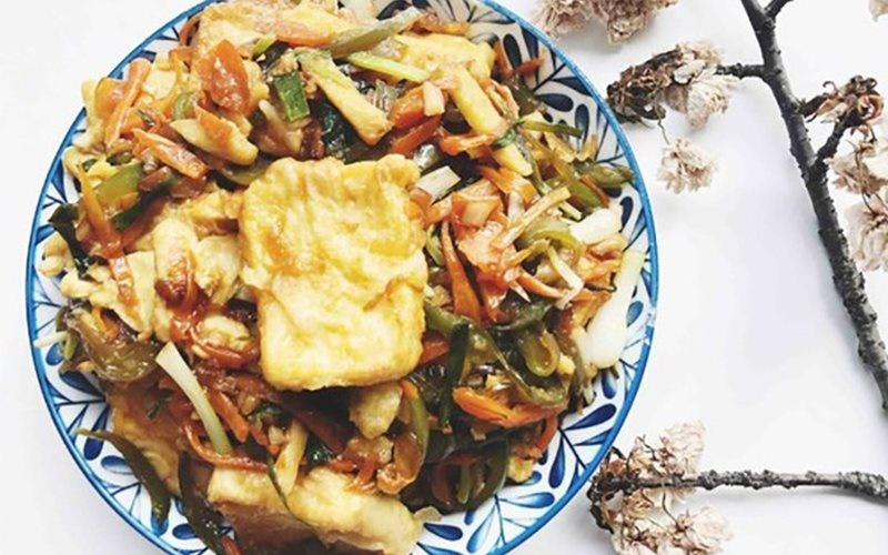 How To Make Tofu Stir-fried With Vegetables