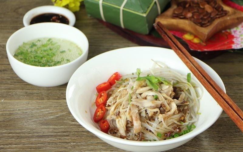 How To Make Noodles Mixed With Chicken