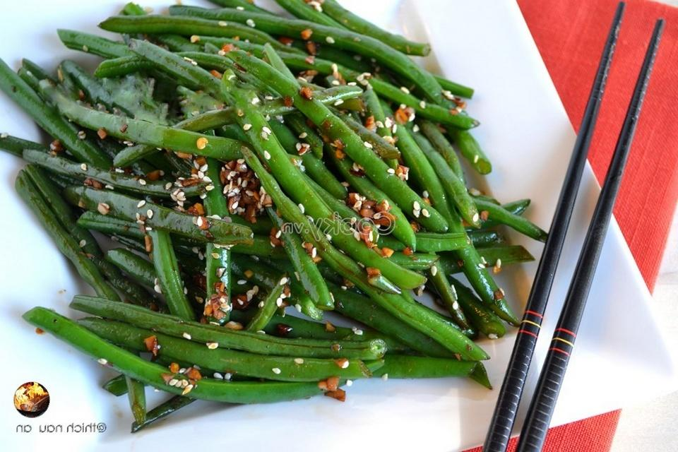 How To Make Green Beans Stir-fried With Sesame