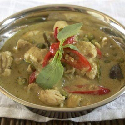 how to make green curry