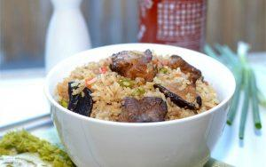 how to make pork rib rice