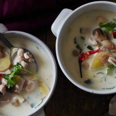 how to make tom kha gai
