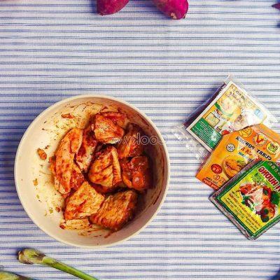 marinate them in 15 minutes
