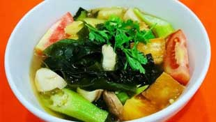 how to make sour seaweed soup