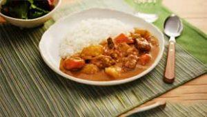 how to make curry with cooked rice