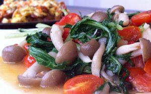 how to make mushrooms stir-fry