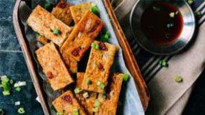 how to make fried taro cakes