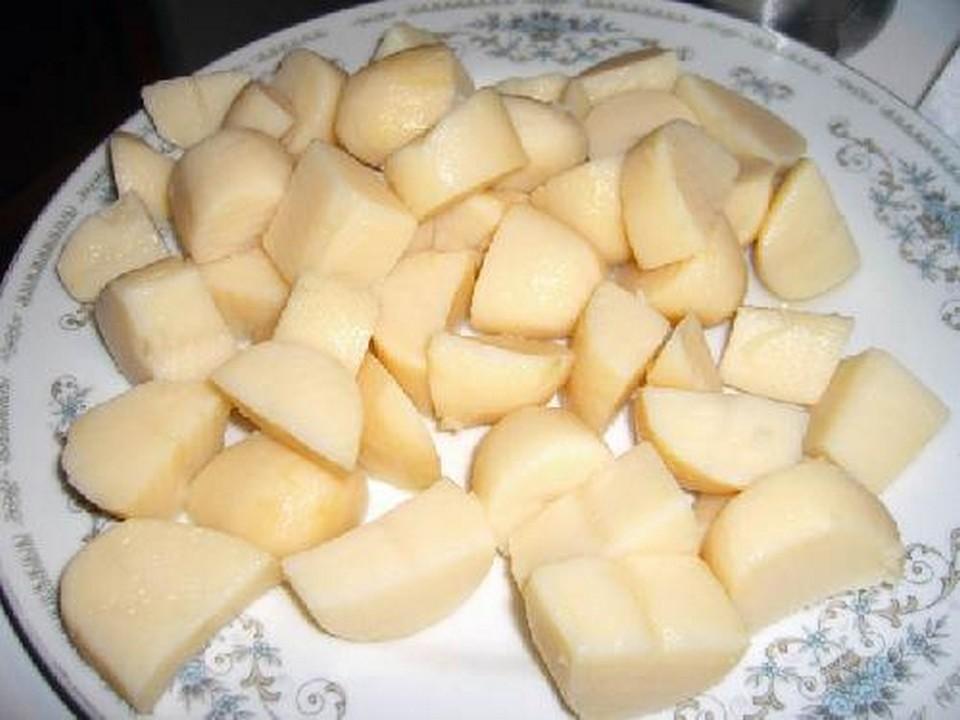 dice potatoes