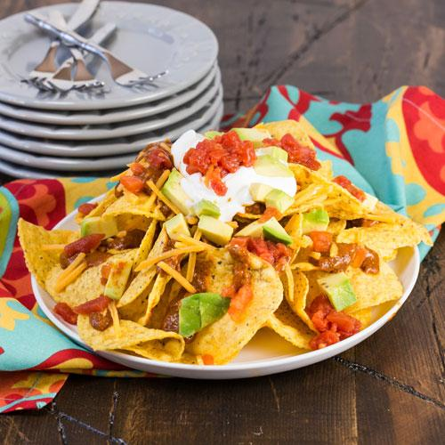 Chili Nachos For A Light Meal With Family