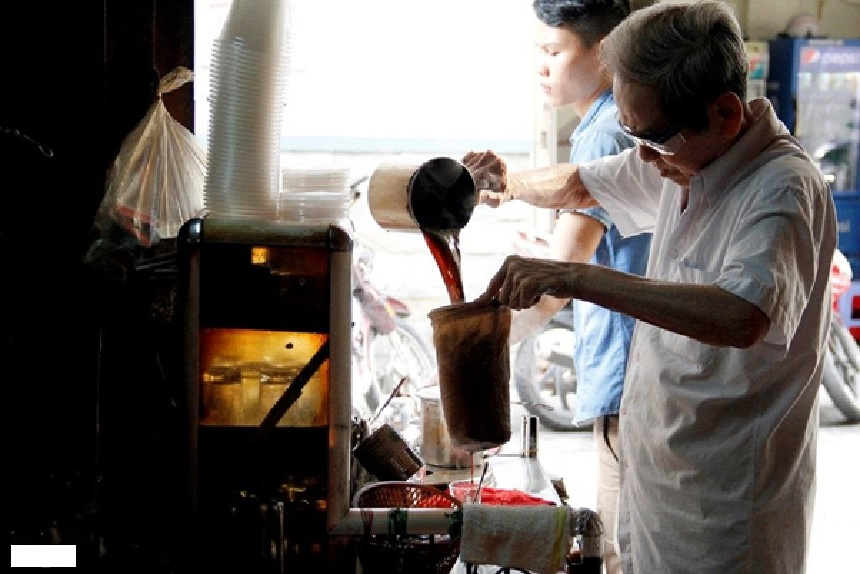 Cloth-filter coffee - one of the must-try café in HCMC